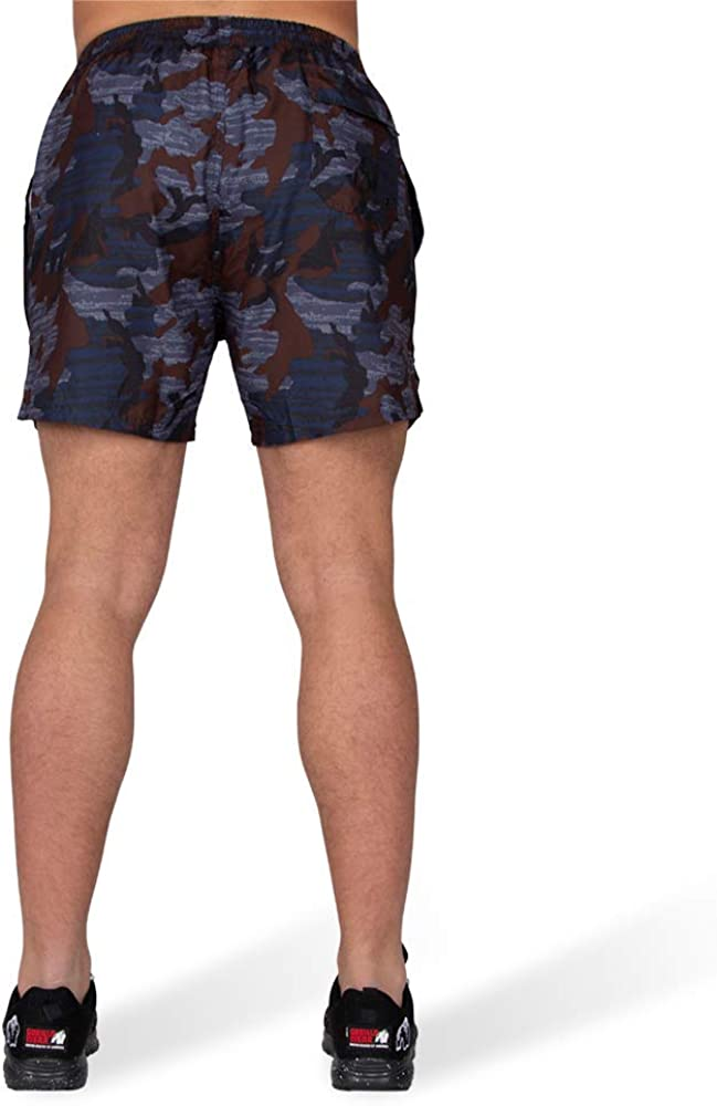 Blue Camo/_4XL GORILLA WEAR Bailey Shorts