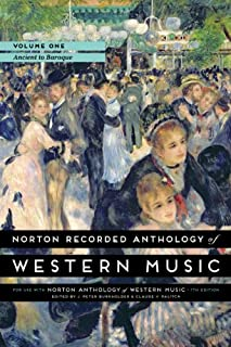 Norton Recorded Anthology of Western Music, Volume 1: Ancient to Baroque (0393936872) | Amazon Products