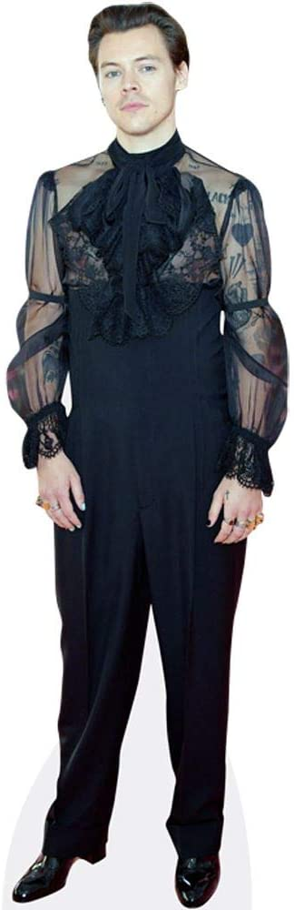 Harry Styles (Black Outfit) Life Size Cutout