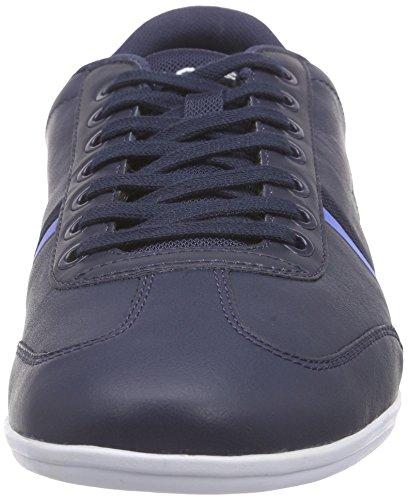Lacoste Misano Sport 116 1, Scarpe da Ginnastica Uomo Blu (Black)
