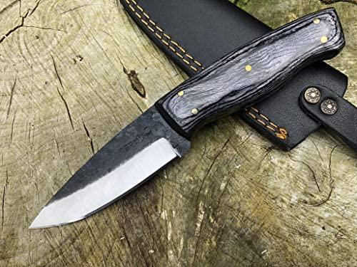 Perkin Cuchillo Supervivencia Dark Forest para Caza, Pesca ...