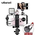 ULANZI U Rig Pro Smartphone Video Rig, Filmmaking Case, Phone Video Stabilizer Grip Tripod Mount for Videomaker Film-Maker Video-grapher for iPhone Xs XS Max XR iPhone X 8 Plus Samsung 8