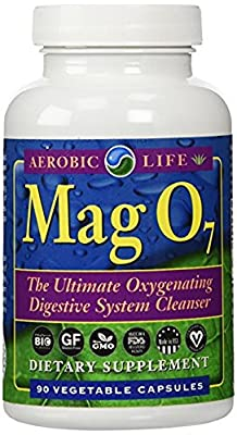 Aerobic Life Mag O7 - The Ultimate Oxygenating Digestive System Cleanser, 90 Capsules