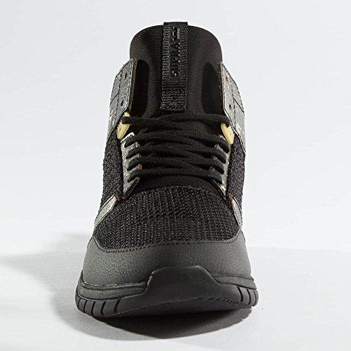 Supra Method Skate Shoe Black / Gold / Black