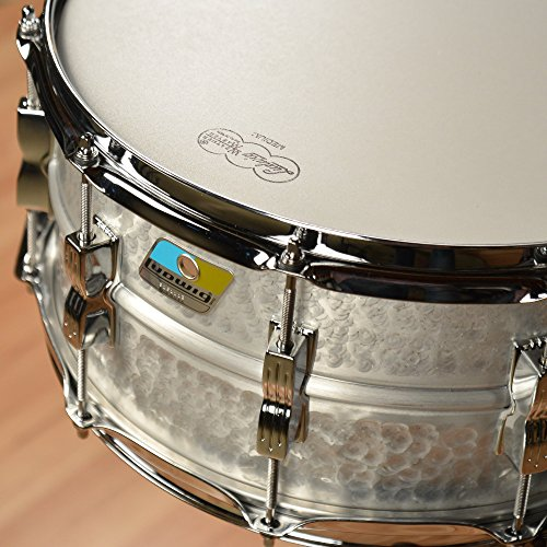 Ludwig LM405K 6.5X14 HAMMERED ALUMINUM ACROLITE SD 14 x 6.5 in. by Ludwig (Image #1)