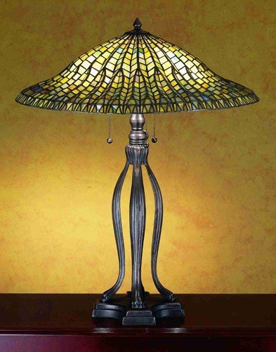 30 Inch H Lotus Leaf Table Lamp Table Lamps