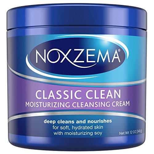 Noxzema Classic Clean Cream Moisturizing Cleansing, 12 oz - Moisturizing Cleansing Cream