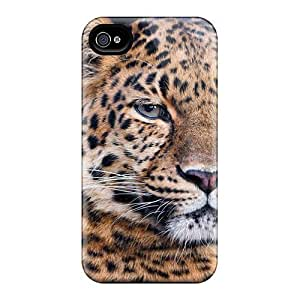 Tough Iphone Gucjsji3578ZCfQy Case Cover/ Case For Iphone 4/4s(another Beautiful Leopard)