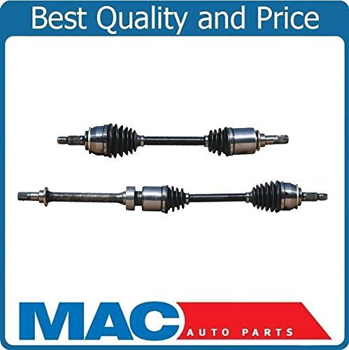 Front L /& R CV Axle Shafts for 02-08 Base Mini 1.6L With Automatic Transmission