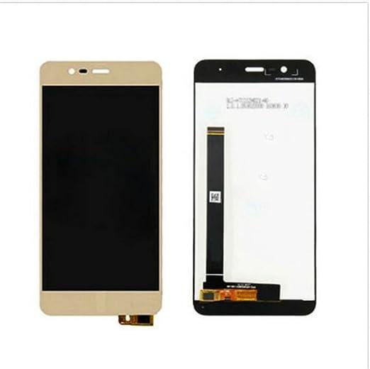 ASUS Zenfone 3 Max ZC520TL Display im Komplettset LCD Ersatz Für Touchscreen Glas Reparatur (Gold)