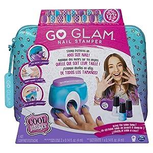 Spin Master Cool Maker GoGlam Nail Studio – Maquillaje de Juguete (Nail Polish Set, Multicolor, Femenino, 8 año(s), China, 330 g) 51VL8tC0SCL