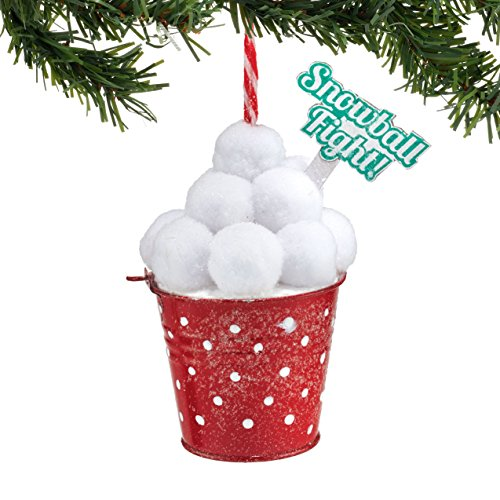 Snowball Ornament (Department 56 Welcome to Snowville Snowball Figurant)