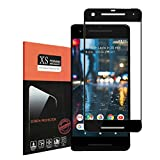 For Google Pixel 2 Screen Protector,Thierfy [Full Coverage] Ultra HD 9H Hardness,Bubble Free,Anti-Scratch,Anti-Fingerprint Tempered Glass screen protector for Pixel 2