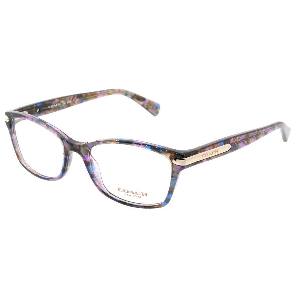 Coach Women's HC6065 Eyeglasses Confetti Purple 51mm by Coach