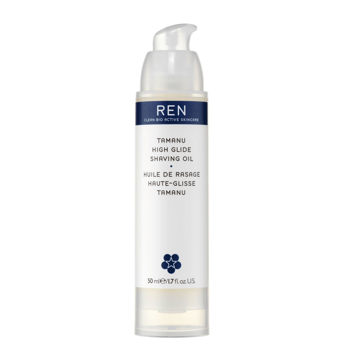 Ren tamanu high glide shaving oil 1.7fl oz 30764 28003076