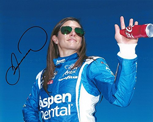 Autographed 2017 Danica Patrick  10 Aspen Dental Racing Driver Introductions  Stewart Haas Team  Monster Energy Cup Series Signed Collectible Picture Nascar 8X10 Inch Glossy Photo With Coa