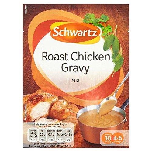Schwartz Clásico Asado Salsa De Pollo 26g (Paquete de 6)