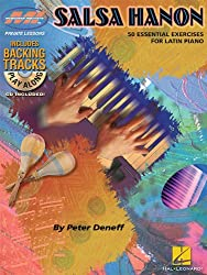 Salsa Hanon Play Along 50 Essential Exercises Latin Piano Book/Cd (Musicians Institute: Private Lessons)