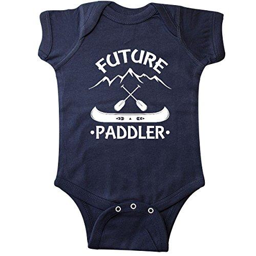 Blue Canoe Onesie - inktastic Canoe Future Paddler Infant Creeper Newborn Navy Blue