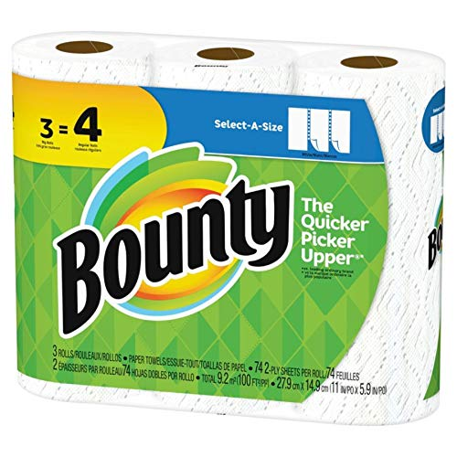 Amazon.com: Bounty Select-A-Size 2-Ply Paper Towels, 11
