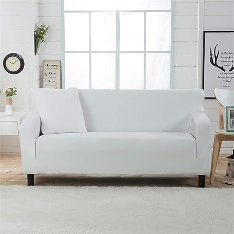 Giow Funda de sofá elástica Lisa Sofá Minimalista Moderno ...