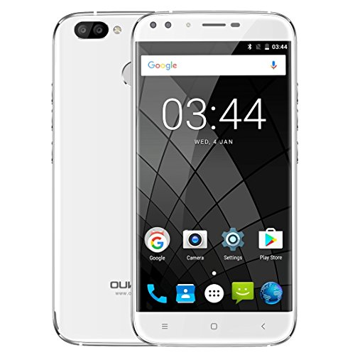 OUKITEL U22 2GB+16GB 5.5 Inch Android 7.0 MTK6850A Quad Core up to 1.3GHz WCDMA & GSM (White)