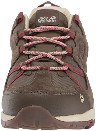 Low Ruby W de Senderismo Dark para Rise Jack Wolfskin Mujer Texapore Rocksand Zapatos XqBxfYtw7