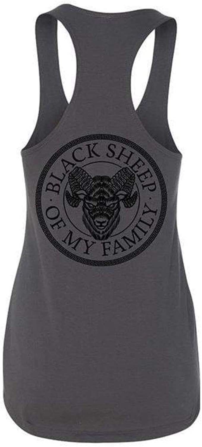 Ink Addict Mens Black Muscle Tank with White Expensive Skin Logo