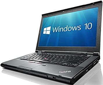 Lenovo ThinkPad T430 14-Inch Notebook (Black) - (Intel i5-3320M, 8 GB RAM, 128 GB SDD, Windows 10) (Certified Refurbished): Amazon.es: Informática