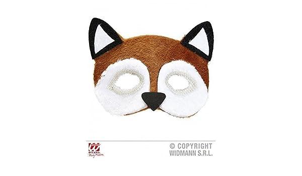 Máscara de pestañas / Máscara / Mascarilla felpa Zorros (Disfraz de zorro / Traje de animal Accesorio) : Amazon.es: Juguetes y juegos