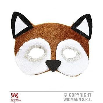 Máscara de pestañas / Máscara / Mascarilla felpa Zorros (Disfraz de zorro / Traje de