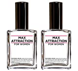 Max Attraction for Women - Pheromones to Attract Men (2 Bottles Special Offer Discount)