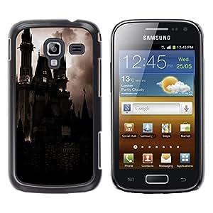 LECELL--Funda protectora / Cubierta / Piel For Samsung Galaxy Ace 2 I8160 Ace II X S7560M -- Spooky Night Dracula Vampire --
