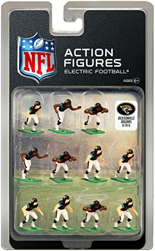 Jacksonville Jaguars Home Jersey NFL Action Figure Set
