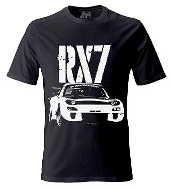 Mazda RX7 RX 7 Herren T Shirt Tuning Drift Boost Motorsport