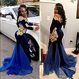 TTYbridal Off Shoulder Prom Dress Long Applique