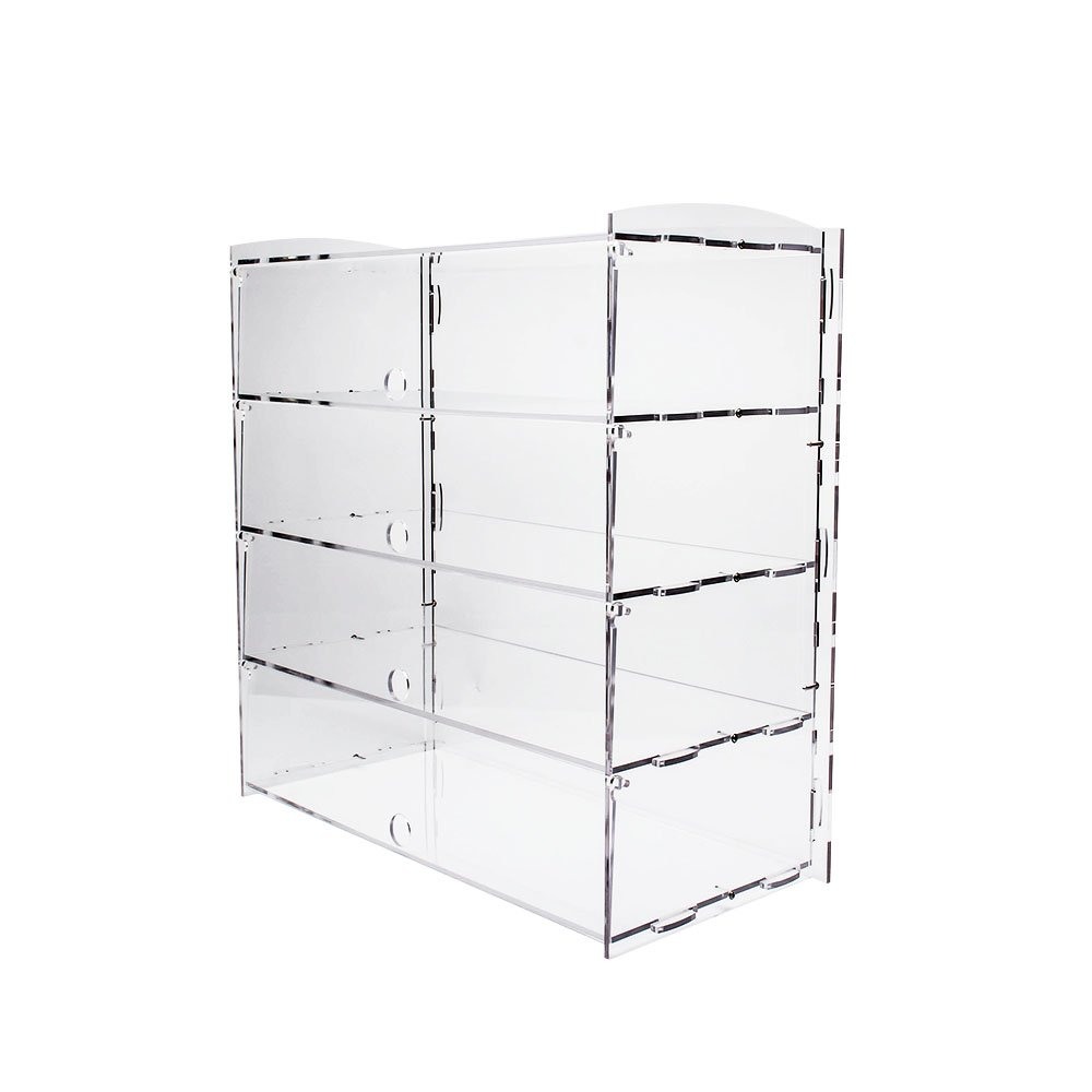 Display4top Acrylic Display Pastry Cabinet Cakes Donuts Cupcakes Pastries (4 Tier)