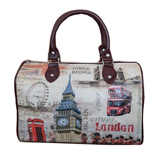 SELLER UK Bag Icons London Barel BD014 dAAFT