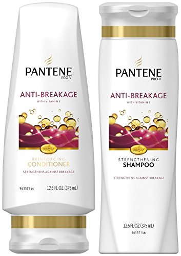 Pantene Pro-V Anti-Breakage, DUO Set Shampoo + Conditioner, 12.6 Ounce, 1 each Anti Breakage