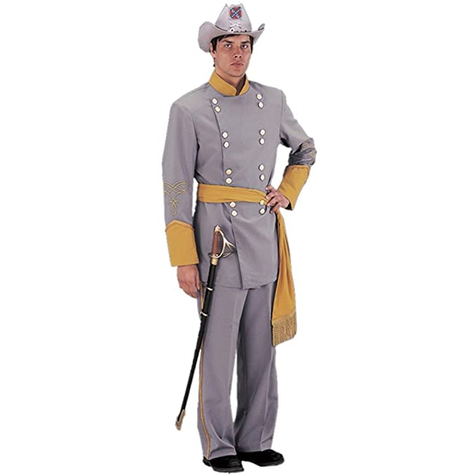 Victorian Men's Clothing, Fashion – 1840 to 1900 Adult Authentic Confederate Officer Civil War Costume (Size: X-Large) $266.99 AT vintagedancer.com