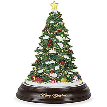 2e3bb2c560b Best Choice Products Pre-Lit Tabletop Rotating Musical Christmas Tree  Festive Holiday Decoration w  9 Songs - Green