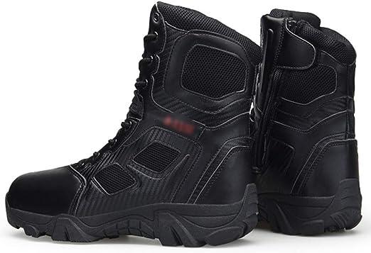 Hommes Delta Arm/ée Bottes Hautes Tactiques Assaut Chaussures Forces Sp/éciales Police Militaire Chaussure En Plein Air D/ésert Assaut Combat Botte