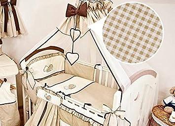 Baby Comfort Bettwäsche Set 10 Teilig Für Babybettchen á 120 X 60