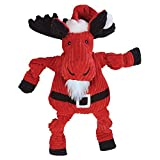 Cheap HuggleHounds 10503 Santa Moose Knottie Dog Toy