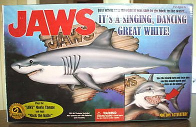 Jaws: It's A Singing, Dancing Great White! By Gemmy Industries, 2000 (Singing Shark compare prices)