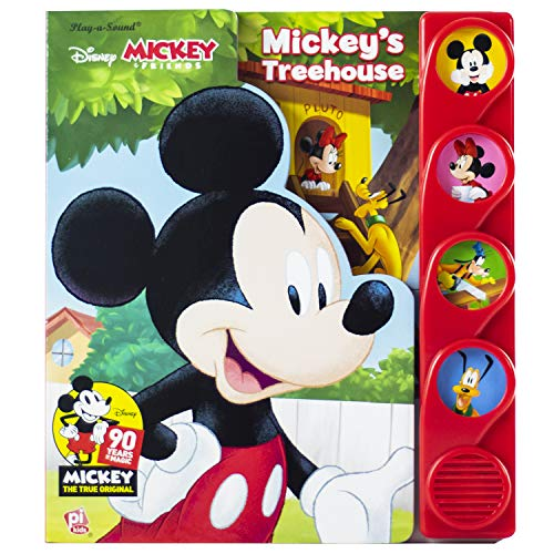 Disney Mickey & Friends 90 Years of Magic - Mickey's Treehouse - Play-a-Sound - PI ()