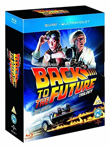 Back to the Future Complete Trilogy 1-3 Blu Ray 1 2 & 3 NEW Box Set Collection