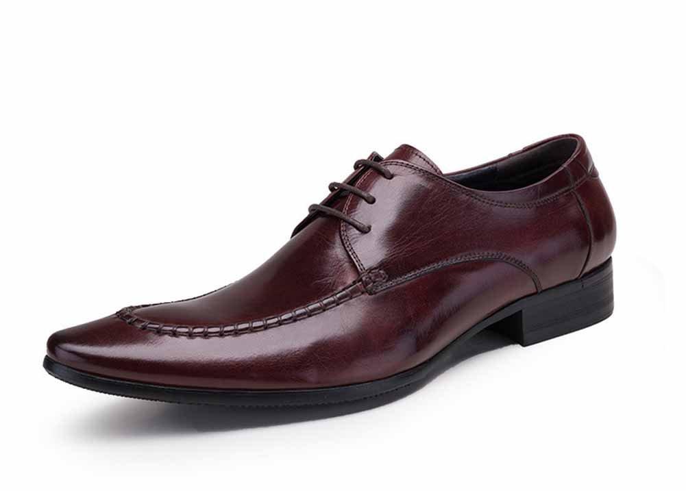 Herrenschuhe Klassische Englische Schuhe Anzüge Große Größen Geschäft Schuhe Sohle Leder Geschäft Schuhe