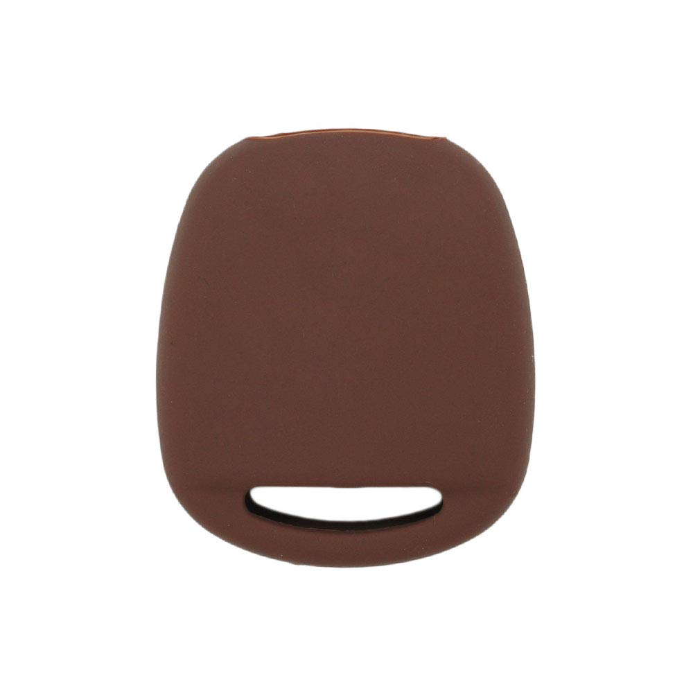 BROVACS Silicone Cover Protector Case Skin Jacket fit for TOYOTA LEXUS 2 Button Remote Key Fob CV2421 Red