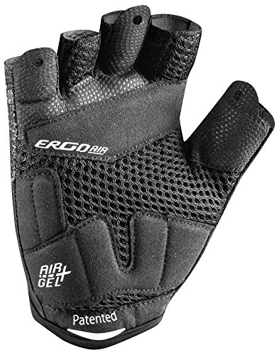 Louis-Garneau-Mens-Air-Gel-Padded-Breathable-Shock-Absorbing-Half-Finger-Mesh-Bike-Glove